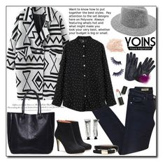 """Yoins II"" by adnaaaa ❤ liked on Polyvore featuring AG Adriano Goldschmied, H&M, Sigma Beauty, Manic Panic, women's clothing, women's fashion, women, female, woman and misses"
