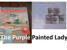 Annie Sloan Chalk Paint Q - how to paint with Chalk Paint by the Purple Painted Lady