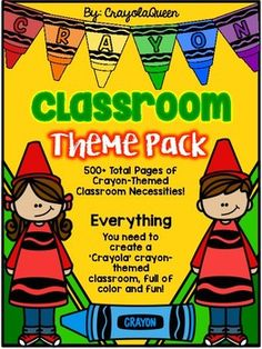 This classroom MEGA pack features over 500 pages of 'Crayola' Crayon Themed resources needed to successfully set up your classroom in a fun and colorful crayon theme! Head Start Classroom, Kindergarten Classroom Setup, Classroom Themes, Classroom Organization, Crayon Bulletin Boards, Preschool Bulletin Boards, Crayon Themed Classroom, Crayon Decorations, Effective Teaching