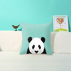 Yoler® Soft Satin Decorative Throw Pillow Cover Cushion Case Home Decorative Pillow Case with Exquisite Pattern 17.5x17.5 Inches (Panda) Yoler® http://www.amazon.com/dp/B00X9OMTT4/ref=cm_sw_r_pi_dp_4VdGvb19X5D0Z