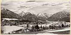 Ein Blick auf Oberstdorf