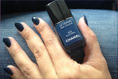CHANEL nail polish – BLUE REBEL