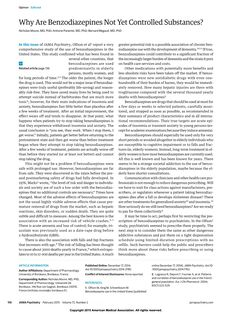 in this issue of jama psychiatry olfson et al1 report a very comprehensive study of