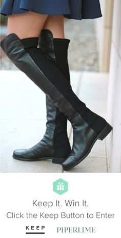 The perfect boot. Really. Win it from @Keep & @Piperlime! #keepitwinit #fallfashion