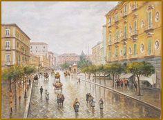 Via Foria- Napoli -Attilio Pratella (1856-1949)
