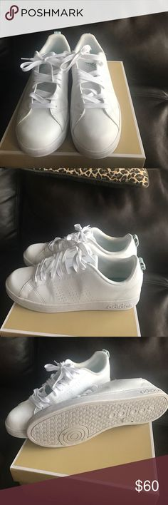 Stan smith addidas Get these summer staples.  Stan smiths go with everything. some slight wrinkles on the sides.  None across the toes!  They still look fresh!  No box   addidas Shoes Sneakers