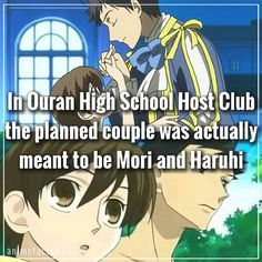 What da?!!!!! Oh my lord! this would be my least ship sure mori is cool and gentle and kind but still they don't really match