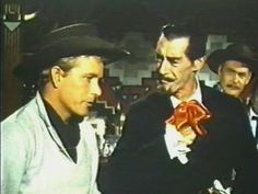 """Chuck Courtney as Billy the Kid and John Carradine as Count Dracula in """"Billy the Kid Vs Dracula"""""""