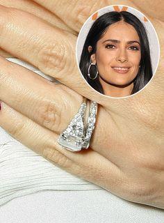 Salma hayek wedding ring