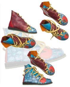 BOTA KAMBAA - PISAVERDE,diseño y producción de calzado ARTESANO