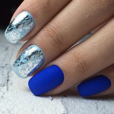 Stunning and Simple Nail Designs You Can Duplicate At Home ★ See more: http://glaminati.com/stunning-simple-nail-designs/