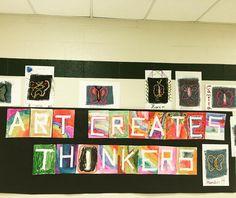 Art creates thinkers #VRESartwalk