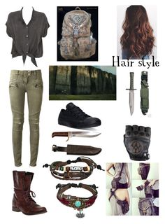 Designer Clothes, Shoes & Bags for Women Zombie Apocalypse Outfit, Apocalypse Fashion, Punk Outfits, Teen Fashion Outfits, Fashion Dresses, Maze Runner, Fandom Fashion, Nerd Fashion, Disney Fashion