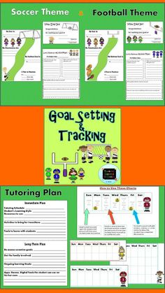 A tutor's main purpose is to help students set and achieve learning goals. The same is true of homeschooling parents! This packet was designed to assist in that endeavor. $