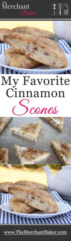 My Favorite Cinnamon Scones. Rich, dense but tender, buttery cream scones that will melt in your mouth! These are the coffee house scones you've been searching for!
