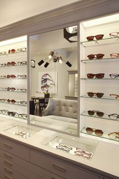 Opticians Store Design | Retail Design | Shop Design | Fox Optical - Robert Marc boutique by Neal Beckstedt, New York