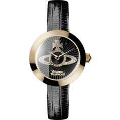 Vivienne Westwood Queensgate Watch ($325) ❤ liked on Polyvore featuring jewelry, watches, vivienne westwood, vivienne westwood jewellery, vivienne westwood watches and vivienne westwood jewelry