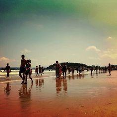 Dia intenso de playa#sardinero#santander#cantabria#ig_cantabria#sun#summer#verano#julio#july#cantabriainfinita#sea#water#orange#blue#skyblue#colour#colours#photo#beach#playa#sunset#sky#mar#sol#jueves#moments#friends#relax