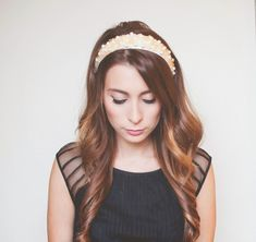 Wardrobe Remix: DIY Jeweled Holiday Headband | Wonder Forest: Design Your Life.