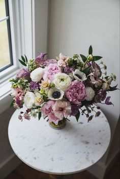 For our Calgary bride who wanted a garden style spring bouquet filled with peonies, ranunculus, clematis, astrantia and more! #peonybouquet #peonywedding #ranunculus #mauvewedding #weddingbouquet #springweddingflowers #calgary #calgaryflorist #gardenstyle Mauve Wedding, Floral Wedding, Bridesmaid Bouquet, Wedding Bouquets, Ranunculus Bouquet, Peonies Season, Growing Peonies, Blush Peonies, Flower Studio
