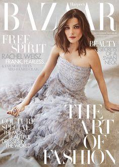Rachel Weisz on the November issue cover of Harper's Bazaar | Harper's Bazaar
