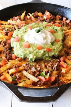 French Fry Nachos (aka Frachos) from @Cake 'n Knife