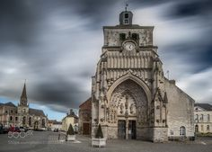 church of Montreuil sur Mer (France) -