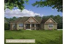 Camden ranch home design, Joseph Douglas Homes, Milwauke and Waukesha, WI Dream House Plans, House Floor Plans, My Dream Home, Bungalow Homes, Ranch Style Homes, Style At Home, Craftsman House Plans, Craftsman Ranch, Craftsman Style