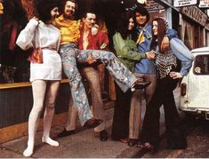 Carnaby Street in London in the late '60s - the epicenter of all fun and fashion.