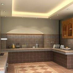 Simple False Ceiling Designs For Kitchen   Ceiling Designs   Breathtaking Kitchen Ceiling Light Design Using LED For The Modern  Minimalist Kitchen. Modern False Ceiling Design For Kitchen. Home Design Ideas