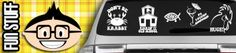 Amazing vinyl car decals, wall decals and custom vinyl stickers for everyone. We do custom decals and have thousands of different decals and categories. Car Window Stickers, Car Decals, Wall Stickers, Vinyl Decals, Custom Decals, Weird, Fun, Weather, Snow