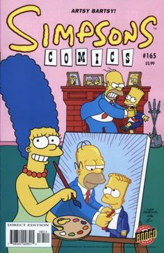 simpsons comic 165 | Simpsons Comics #165 - Love Potion Numbs Her Mind on Comic Collector ...
