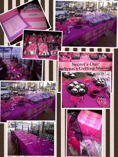 fa55abf65e5f Victoria Secret Inspired Bridal Shower! Victoria Secrets