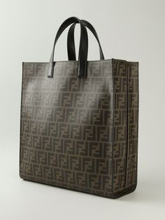 Fendi Ff Logo Shopper - Stefania Mode - Farfetch.com