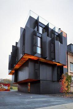 Four Apartments Metaform presents a building... | The Khooll