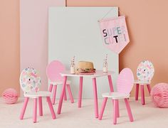 Whether it's tea parties, arts & crafts, snack time or colouring in, the Beckett Furniture range from Adairs Kids makes it easy for little ones to get creative. Both the tables and chairs are available in a range of fun styles to suit your family. #kidsfurniture #kidstable #kidschairs #kidsdecor #kidsinteriors #kidshomewares #kidsroom #kidsroomideas #adairskids
