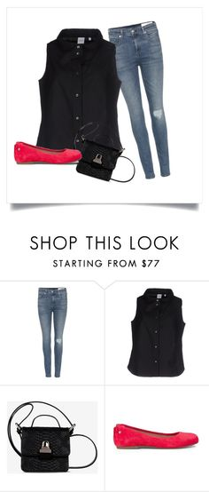 """""""Tessa's party outfit"""" by tris-prior-eaton-00 ❤ liked on Polyvore featuring rag & bone, Aspesi, MM6 Maison Margiela and UGG Australia"""