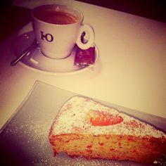 #morning   #cake   #coffee  #breakfast