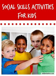 Social Emtional Learning Activities For Kids.  These activities teach children ages 4 to 10 important social skills such as how to make friends, give compliments, problem solve, and make good decisions.