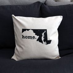 Maryland Home Pillow Cover