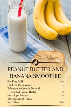 Peanut Butter and Banana Smoothie Are you looking for weight loss smoothie recipes? Besides being effective for burning fat such smoothies are very delicious! Check out our choices. Weight Loss Smoothie Recipes, Weight Loss Snacks, Isagenix, Pastas Recipes, Quick Recipes, Beef Recipes, Salad Recipes, Noodle Recipes, Drink Recipes
