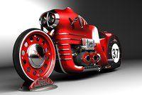 Evolution Motorsports 1976 Honda - Pipeburn - Purveyors of Classic Motorcycles, Cafe Racers & Custom motorbikes Concept motorcycle Vin. Concept Motorcycles, Cool Motorcycles, Drag Bike, Motorcycle Design, Bike Design, Steampunk Motorcycle, Red Motorcycle, Mv Agusta, Hot Bikes