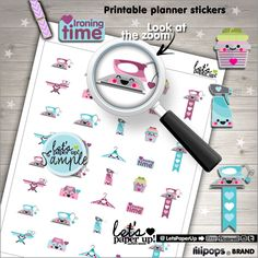 Iron Stickers, Printable Planner Stickers, Ironing Stickers, Kawaii Stickers, Erin Condren, Laundry Stickers, Cleaning Stickers, Clean Up