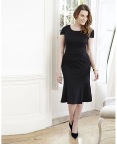 """Finally!  A dress for the pear shaped! """"Bespoke"""" Bespokefit Pear Shaped Dress at Simply Be"""