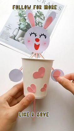Easy Paper RABBIT Craft Ideas | Paper Crafts