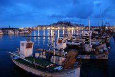 Vista desde el Puerto. / Imagen cedida por: Fundación de Promoción Turística de Ibiza