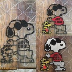 Snoopy perler beads by herc78