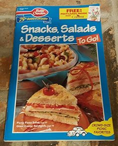Snacks Salads Desserts to Go Betty Crocker Creative Ideas 118 ** Check out this great product. Gourmet Desserts, Special Deals, Betty Crocker, Creative Ideas, Salads, Snacks, Check, Food, Diy Creative Ideas