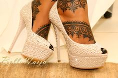 African Henna - BellaNaija Not henna, but freekin' beautiful!