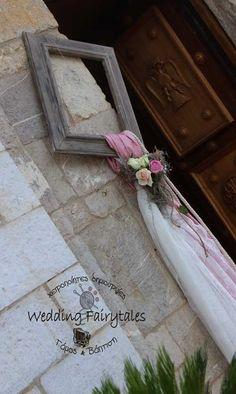 Στολισμός εκκλησίας vintage Weddingfairytales.gr